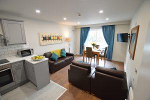 Bright & spacious living roms